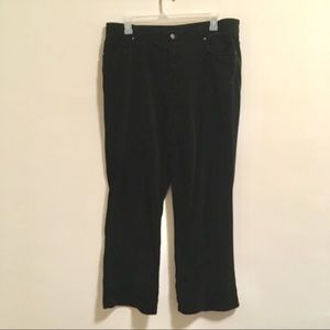 Jones New York Velvet Pants 18w